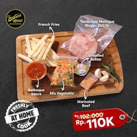Just Us Steak House Promo Special Value Of Tanderlion Meltique Wagyu Only For IDR. 110.000