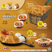 A&W Restaurant Promo Awesome Weekend Deals