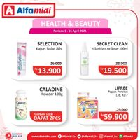 Katalog Promo Alfamidi Health and Beauty Periode 1 - 15 April 2021