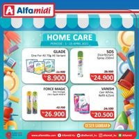 Katalog Promo Alfamidi Home Care Murah Periode 1 - 15 April 2021