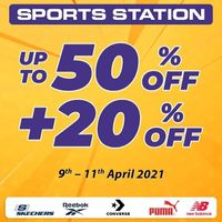 Sport Station Discount Up To 50% Off + 20% Off