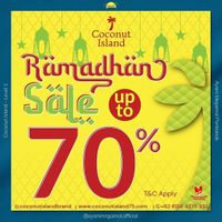 Coconut Island Ramadhan Sale Up To 70% Off