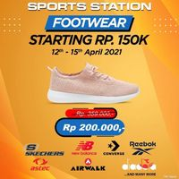 Sport Station Promo Footwear Starting From Rp. 150.000