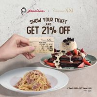 Pancious Show Ticket XXI Get Discount 21% Off