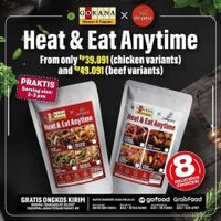 Gokana Ramen & Teppan x Chopstix Promo Heat & Eat Anytime Packages From Only Rp. 39.091