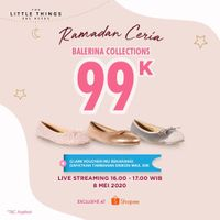 The Little Thing She Need Promo Ramadan Ceria, Ballerina Collections Cuma Rp. 99.000