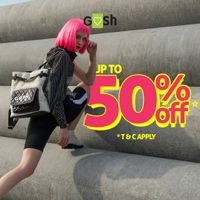 Gosh Promo Discount Up To 50% Off