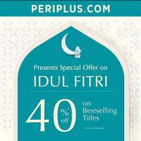 Periplus Discount 40% Off On Bestselling Titles