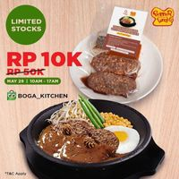 Pepper Lunch Promo Lunch Menu Only For Rp. 10.000