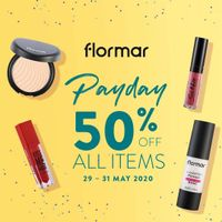 Flormar Promo Payday Get Discount Up To 50% Off For All Items