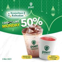 Point Coffee Promo Diskon 50% Morning Coffee & Tea
