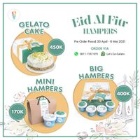 Let's Go Gelato Promo Eid Al Fitr Hampers Start From Rp. 170.000