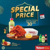 Richeese Factory Promo Special Price Start From Rp. 30.909