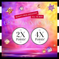 Sephora Get Up To 4x Points
