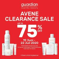 Promo Guardian Avene Clearence Sale Up To 75% Off