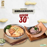 Promo Imperial Shanghai Discount 30% Off For Order By GrabFood Apps