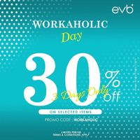 Promo evb Discount 30% Off On Selected Items