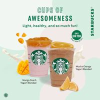 Promo Starbucks Special Value Cups Of Awesomeness Only For Rp. 19.000