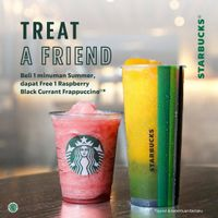 Promo Treat A Friend Starbucks Buy 1 Get 1 Free