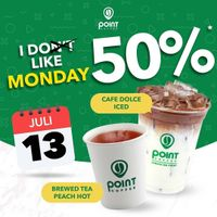 Promo Point Coffee I Do Like Monday Diskon 50%!!