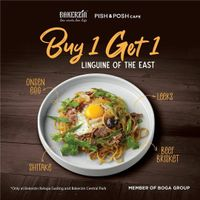 Bakerzin Promo Buy 1 Get 1 Free Linguine Of The East