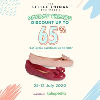 Promo The Little Things She Needs Discount Up To 65% On Tokopedia