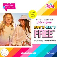 Promo Justice Buy 2 Get 1 Free On Almost Everything