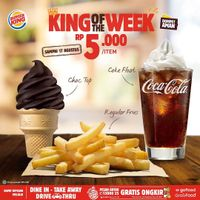 Promo Burger King King Of The Week