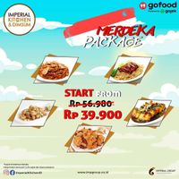 Promo Imperial Kitchen Merdeka Package Start From IDR. 39.900