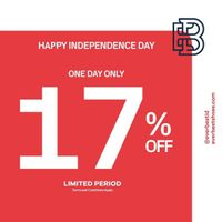 Promo Everbest Independence Day Exclusive Offer Extra 17% Off