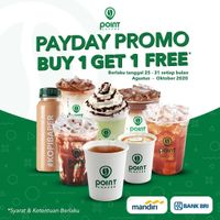 Point Coffee Promo Payday Buy 1 Get 1 Free