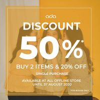 Ada Fashion Promo Diskon 50%