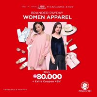 JD.ID Branded Payday Woman Apparel Special Price Only Rp. 80.000 + Extra Coupon Rp. 45.000