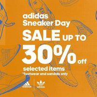 Adidas Sneaker Day - Sale Up To 30% Off On Selected Items