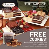 The Harvest Free Cookies
