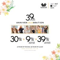 Wacoal 39th Anniversary Celebration Discount Up To 39% Off