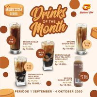 Bakmi GM Drinks Of The Month Start From Rp. 10.000