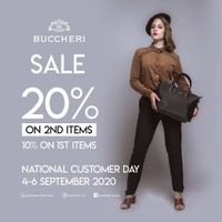 Buccheri Promo Sale up to 20%