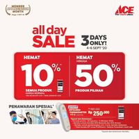 Ace Hardware All Day Sale Up To 50% Off