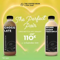 Coffee Bean Promo The Perfect Pair - 2 Big Bottle 110K