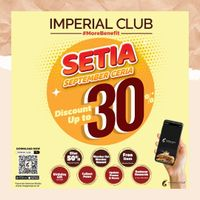 Imperial Club Promo September Ceria - Hingga Diskon 30% Di Aplikasi Imperial Club