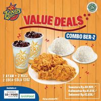 Texas Chicken Promo Value Deals Paket Combo