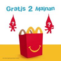 McDonalds Buy 1 Happy Meal Get 2 Free Toys
