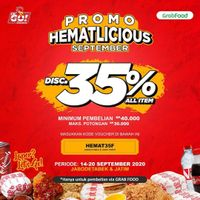 Let's Go Chicken Promo Hematlicious September Di GrabFood