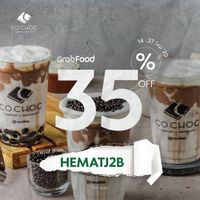 Co Choc Promo GrabFood Diskon 35%