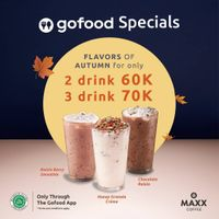 Maxx Coffee Promo GoFood Specials