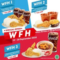 Wendys Special Offer WFH On Gofood