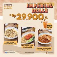 Imperial Kitchen & Dimsum Promo Imperial Deals