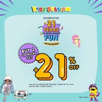 Kidz Station Buy 2 Or More Get Discount 21 % Off + Free Delivery
