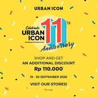 Urban Icon Promo 11th Anniversary